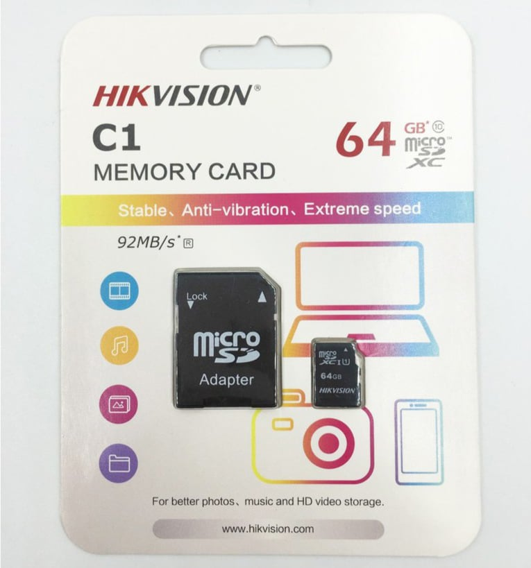 the nho hikvision 64gb 1aaaaaa